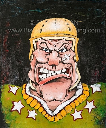 Hockey-Face-Artman ©