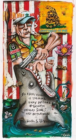 Hunter-S-Thompson-Artman ©