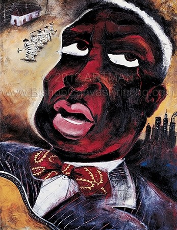 Leadbelly-Artman ©